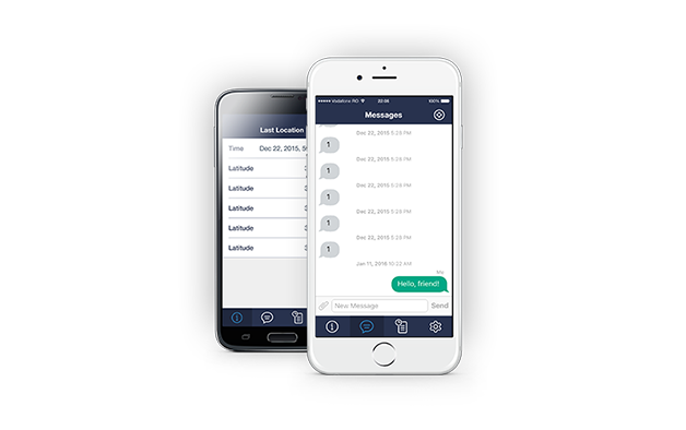 Mobile App GeliosTracker for iOS and ANDROID
